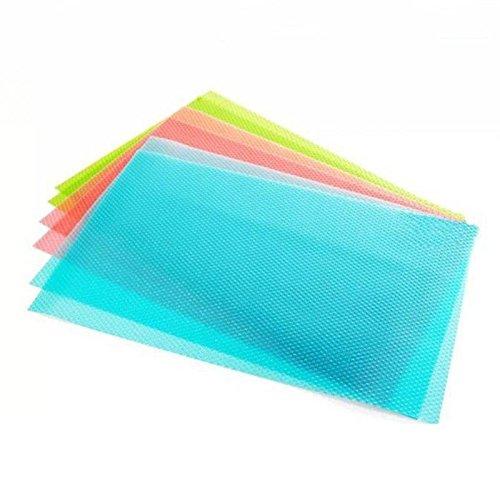 yosoo Lot de 4 de 29 cm *45 cm Fashion Réfrigérateur Conservation antibactérien moisissures anti-encrassement l'absorption d'humidité Pad Tapis pour R...