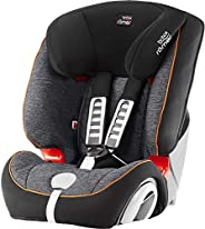 Britax Romer EVOLVA 123 Baby Car Seat Group 1/2/3 From 9 Months to 12 Years,From 9 to 36 Kg-Black Marble