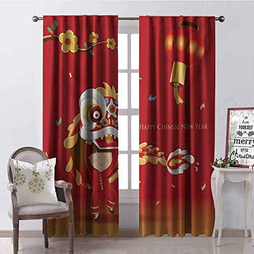 Chinese Lion Dance Kostüm - Wild One Curtain Chinese New Year