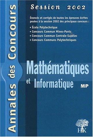 Mathématiques et informatique MP 2002