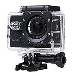Mobilegear SJCAM SJ4000 12 MP WiFi 1080P Full HD Waterproof Digital Action Camera & Sports Camcorder With Accessories & Free Selfie Stick