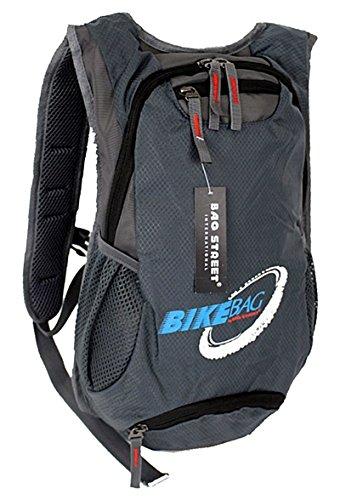 Fahrradrucksack Bag Street Rucksack ( grau ) Trekking Outdoor Bag Taschenlager 4068