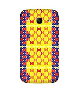 Stripes And Elephant Print-91 Samsung Galaxy Core I8260 Case