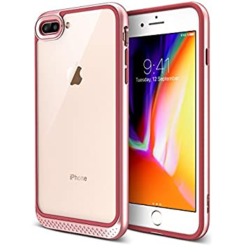 coque iphone 8 plus rose silicone