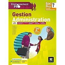 Environnement pro - GESTION ADMINISTRATION Tle Bac Pro GA - Éd. 2017 - Manuel élève