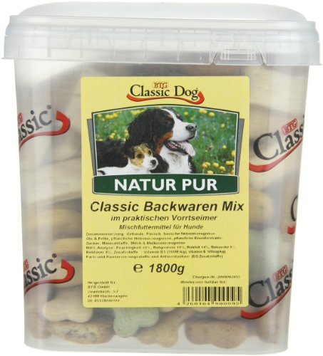 Classic Dog Backwaren-Mix im Eimer, 1er Pack (1 x 1.8 kg) - 3