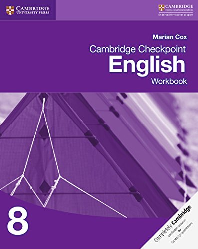 Cambridge checkpoint english. Workbook 8. Per le Scuole superiori. Con espansione online