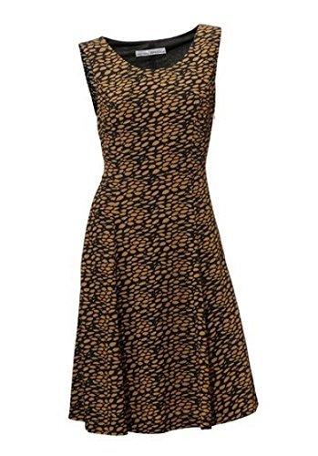Kleid Sommerkleid von Ashley Brooks in Marine Blau