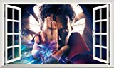 Chicbanners Doctor Strange Magic Fenster Sortiert Wandtattoo Selbstklebende Poster Wall Art Platz Szene Größe 1000mm Breit x 600mm Tief (groß)
