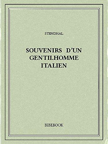 Souvenirs d'un gentilhomme italien