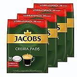 Jacobs Crema cialde, Barattolo Confezione, per Tutte Le Macchine Pad, 144caffè Pads, á 6.6G