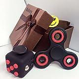 10-ankey-1fidget-hand-spinner-1fidget-cube-negro-rojo-avec-une-boite-cadeau-soulage-le-stress-pour-l