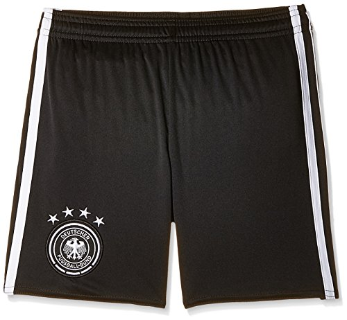adidas Boys' Shorts (AA0145_BLACK/WHITE-128_7-8 years)  available at amazon for Rs.539