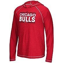 adidas Chicago Bulls Tip-off Dassler Cappuccio a Maniche Lunghe 8e649bd8b6d7
