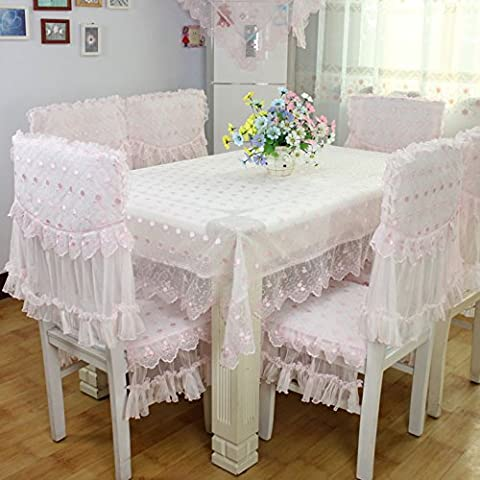 BEEST-Die Tischdecke Tischdecke Bodenbelägen Polster Sitzbezug Stoff spitze Tischdecke Tabelle