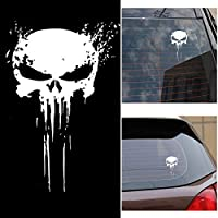 GPunisher Skull Blood Vinyl Car Decals Stickers Motorcycles Decoration