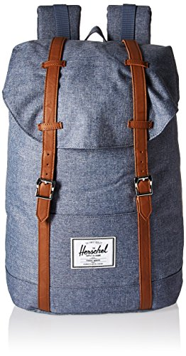 Herschel Retreat Backpack Mochila, dark chambray