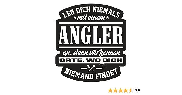 Aufkleber Wetterfest Angler 10 Oder 40cm Fischen Angeln Hochsee Geschenk Hobby Auto