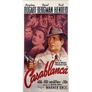 Posterlounge Acrylglasbild 20 x 40 cm: Casablanca von American School/Bridgeman Images – Wandbild, Acryl Glasbild, Druck auf Acryl Glas Bild