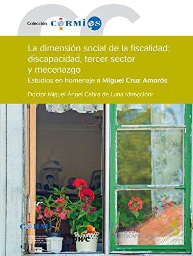 La dimensión social de la fiscalidad: discapacidad, tercer sector y mecenazgo (Cermi.es)