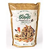Get Baked Crunch Rocks - Chocolate (Oats, Almonds, Walnuts, Chia Seeds, Sunflower Seeds, Pumpkin Seeds, Maple Syrup), 450gms