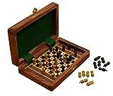 Weihnachtsgeschenke, Klassisches holzernes Handgefertigt Schach Satz Brettspiel Spielraum Zusatz Spielwaren Kinder