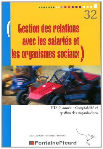 Gestion des relations avec les salariés et les org sociaux BTS CGO 2e année
