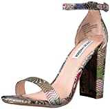 Steve Madden Women's Carrson Dress Sandal, Bright Multi, 6 M US