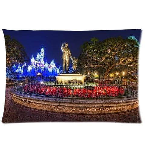 Statue Disney - Walt Disney And Mickey Mouse Statue Disneyland