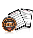 TatWax Tattoo After Care Soothing Balm Tattoo Color Enhancer (Made in USA)