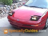 Ford Probe Custom Headlight Faceplate Modification (English Edition)
