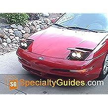 Ford Probe Custom Headlight Faceplate Modification (English Edition)