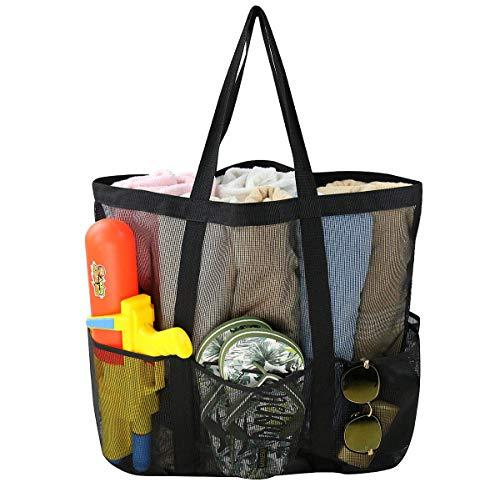 Comius Große Strand Segeltuch Reise Einkaufstasche, Damen Shopping Shopper Tasche Reisetasche Canvas Schultertasche - perfekte Einkaufstasche Für Feiertage (12) - Zwölf Tote Baumwolle