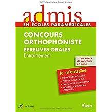 Concours Orthophoniste - Epreuves orales
