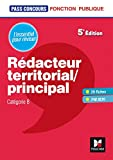 Pass'Concours - Rédacteur territorial/principal - Cat B - Révision et entraînement