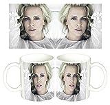 Charlize Theron Tasse Mug