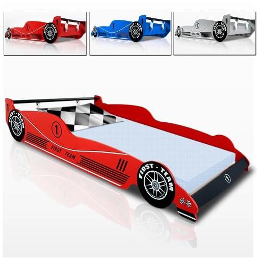 Autobett F1 Formel 1 Kinderbett Bett Schlafzimmer Kindermobel