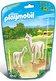 Playmobil Alpaca With Baby 6647 Animal Kingdom - Multi Color