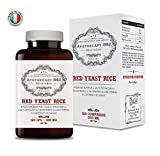 Apothecary 1982 - Colesterolo - Riso Rosso Fermentato + Coenzima Q10-10 mg di Monacolina K - 120 capsule - RISULTATI GARANTITI (analisi mediche) - Registrato al Ministero della Salute Italiano