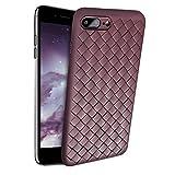 Slynmax Coque iPhone 8 Plus Brown Coque iPhone 7 Plus Silicone TPU Souple Bumper Case...
