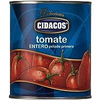 Cidacos tomate entero cil 800 gr.