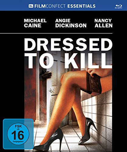 Dressed to kill - Uncut/Mediabook  (+ Original Kinoplakat) [Blu-ray] (Obsession Worte)