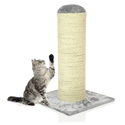 Cozy Pet Deluxe Fat Boy Super Large Cat Scratching Post Scratcher Activity Centre with Heavy Duty Sisal in Grey XXL CT07-Grey. (We do not ship to the Channel Islands or The Isles of Scilly.)