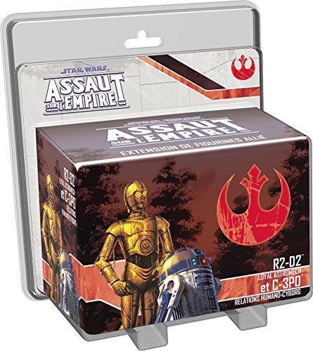 Asmodee - UBISWI12 - Star Wars Assaut Empire - R2D2 Et C3PO