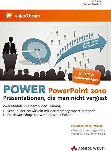 Power PowerPoint 2010 (Video-Training) (Microsoft Project 2010 Software)