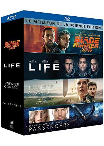 Meilleur de la science-fiction - Coffret : Blade Runner 2049 + Life : origine inconnue + Premier contact + Passengers [Blu-ray]