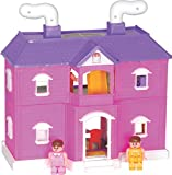 Toyzone My Family Doll House, Multi Colo...