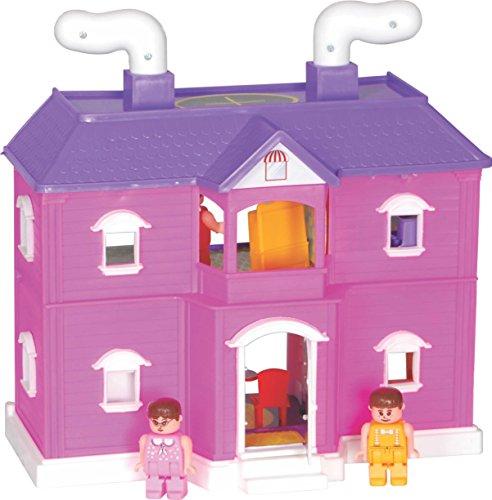 toyzone my family doll house, multi color - 516AwfrfyrL - Toyzone My Family Doll House, Multi Color home - 516AwfrfyrL - Home