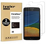 [Lot de 2] Lenovo / Motorola Moto G5 Protection écran, iVoler Film Protection d'écran en Verre Trempé Glass Screen Protector Vitre Tempered pour Lenovo / Motorola Moto G5 - Dureté 9H, Ultra-mince 0.20 mm, 2.5D Bords Arrondis- Anti-rayure, Anti-traces de Doigts,Haute-réponse, Haute transparence- Garantie de Remplacement de 18 Mois