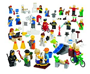 LEGO Education Community Minifigures Set 779348 (256 Pieces) (japan import)